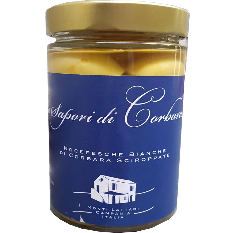 Nocipesca White of Corbara in Syrup 580ml