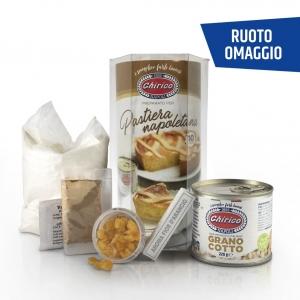 """Cilindro Pastiera Napoletana """"Chirico"""" + Ruoto Omaggio"""