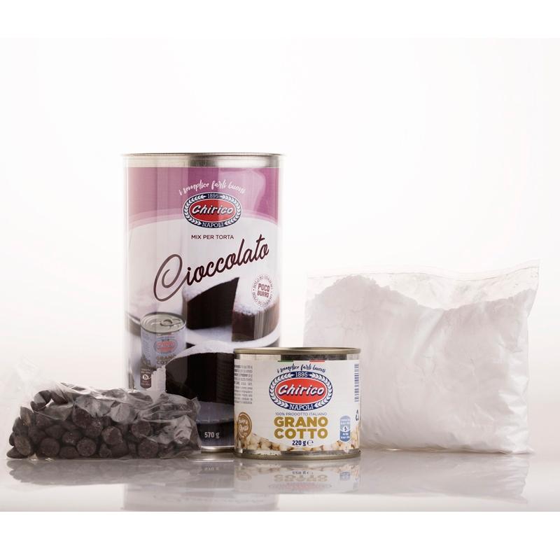 """Chocolate Cake Cylinder """"Chirico"""""""