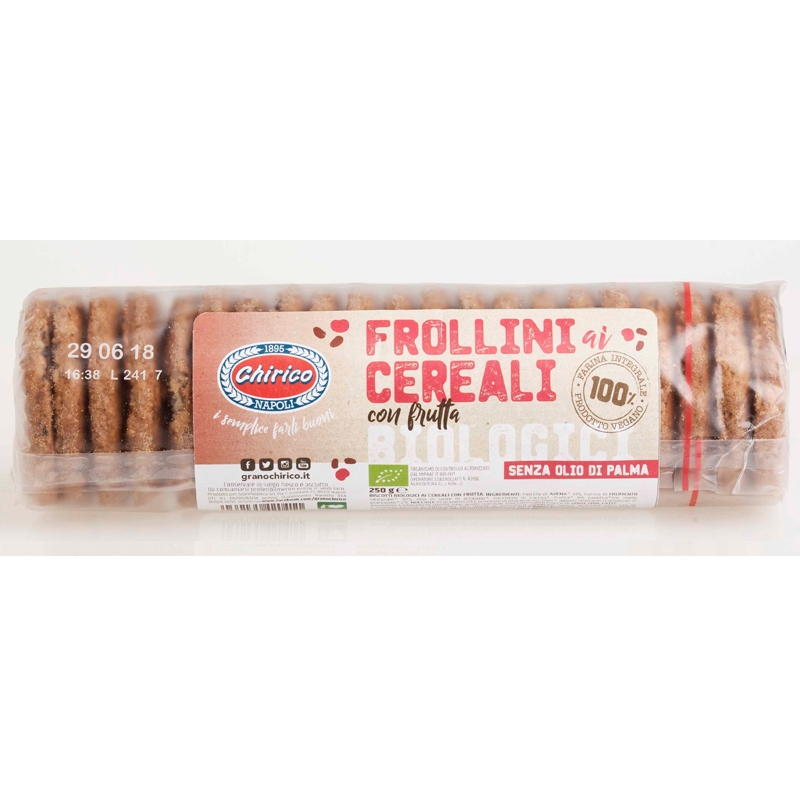 FROLLINI Bio Cereali con Frutta CHIRICO