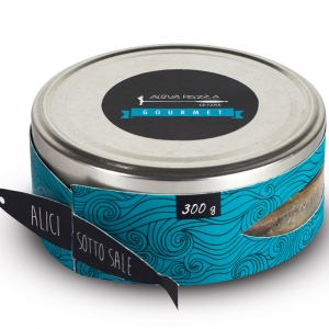 Salted anchovies 200 Gr. - Acqua Pazza Gourmet
