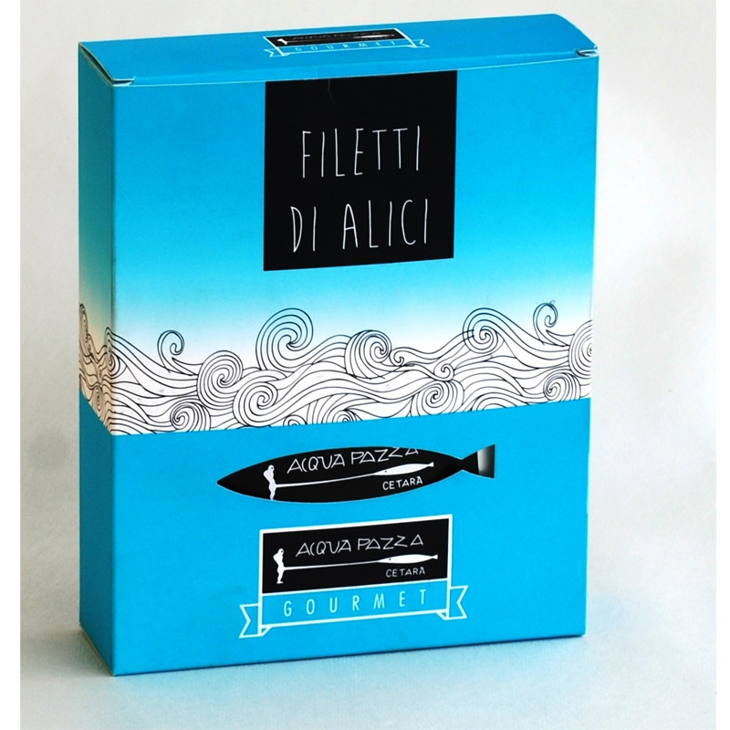 Filetes de anchoa 50 Gr. - Acqua Pazza Gourmet