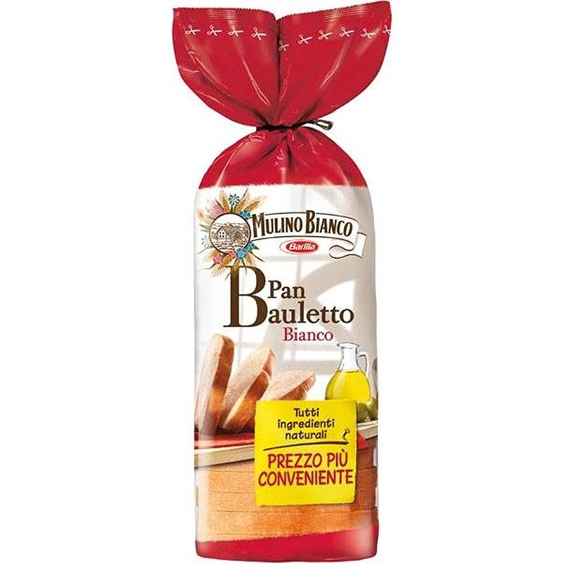 PAN BAULETTO BIANCO CLASSICO 400 Gr. - 8 Confezioni