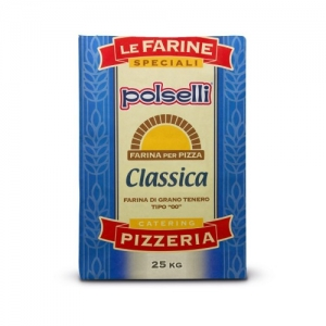 Polselli 00 Classic Flour - 25 Kg