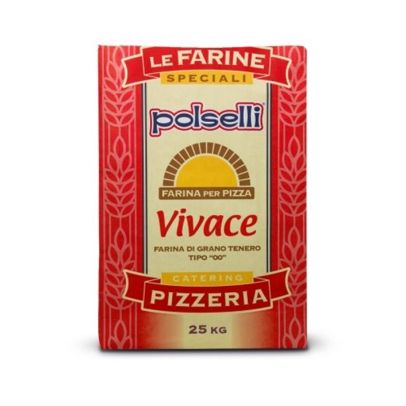 Farina Polselli 00 Vivace - 25 Kg