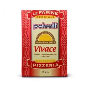Farina Polselli 00 Vivace - 5 Kg