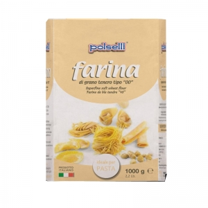 Farina Polselli 00 ideale per pasta - Kg. 1