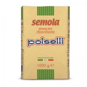 Polselli Rimacinata semolina - Kg. 1