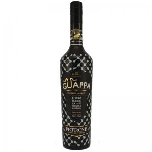 """GUAPPA - liqueur au lait de buffle """"Magnum 150 Cl""""."""