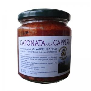 Caponata mit Kapern von Salina Gr.300