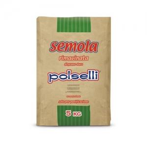 Polselli Rimacinata semolina - Kg. 5