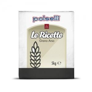 Farina di GRANO ARSO Polselli - Kg. 5