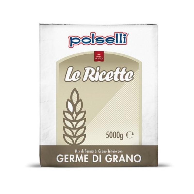 Farina di Germe di Grano Polselli - Kg. 5