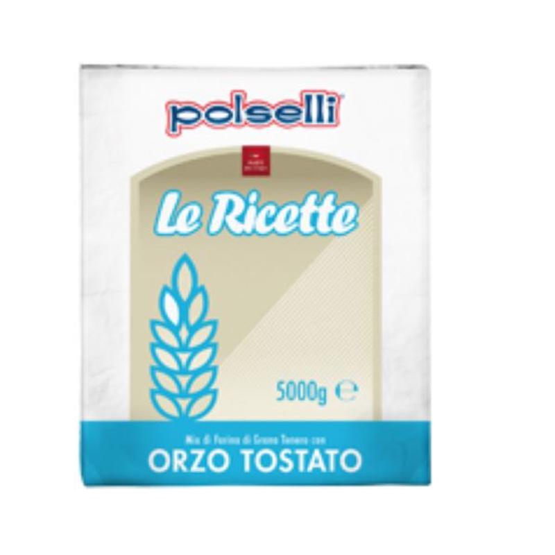 Farina di Orzo Tostato Polselli - Kg. 5