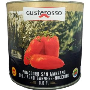 Pomodoro San Marzano DOP dell'Agro-Sarnese Nocerino Gr. 2550 - Gustarosso