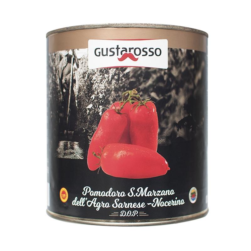 Tomate San Marzano DOP de Agro-Sarnese Nocerino Gr. 800 - Gustarosso