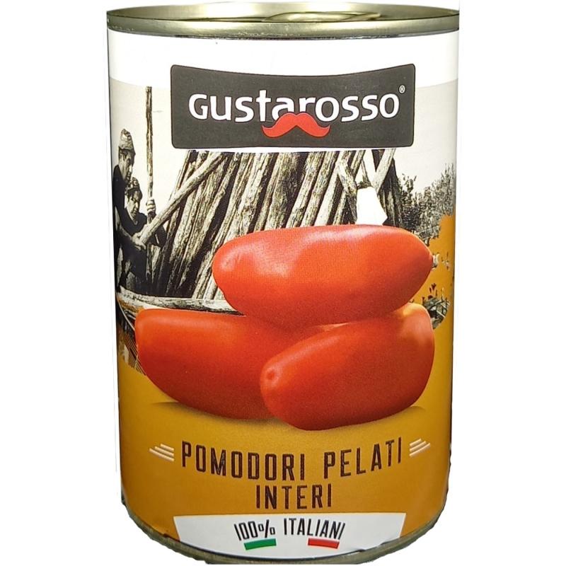 Tomate pelado 100% ITALIANO 400 gr. Gustarosso
