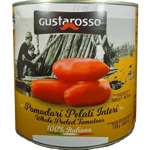 Pomodoro Pelato 100% ITALIANO 2550 gr. Gustarosso