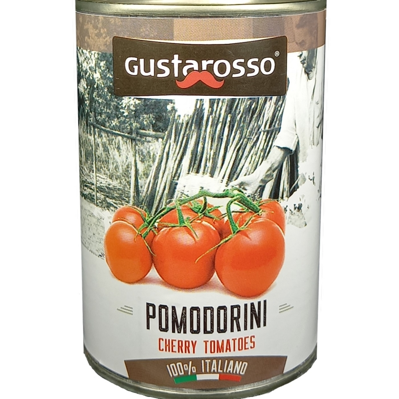 Pomodorini Tondini 400 gr. Gustarosso