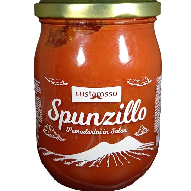 Spunzillo en salsa 520 gr. Gustarosso