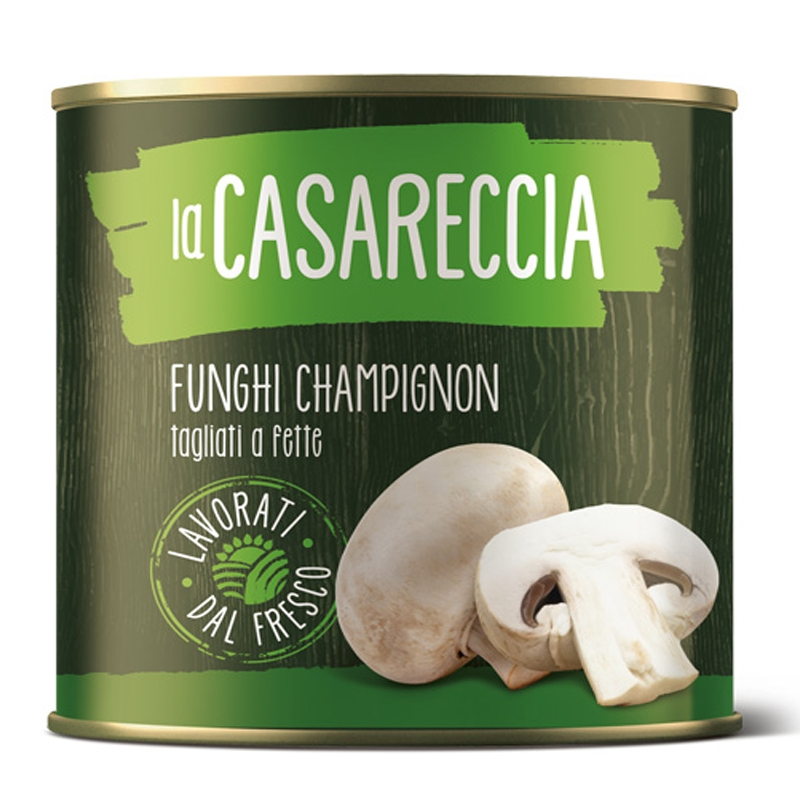 FUNGHI CHAMPIGNON 2550 gr. La Casareccia