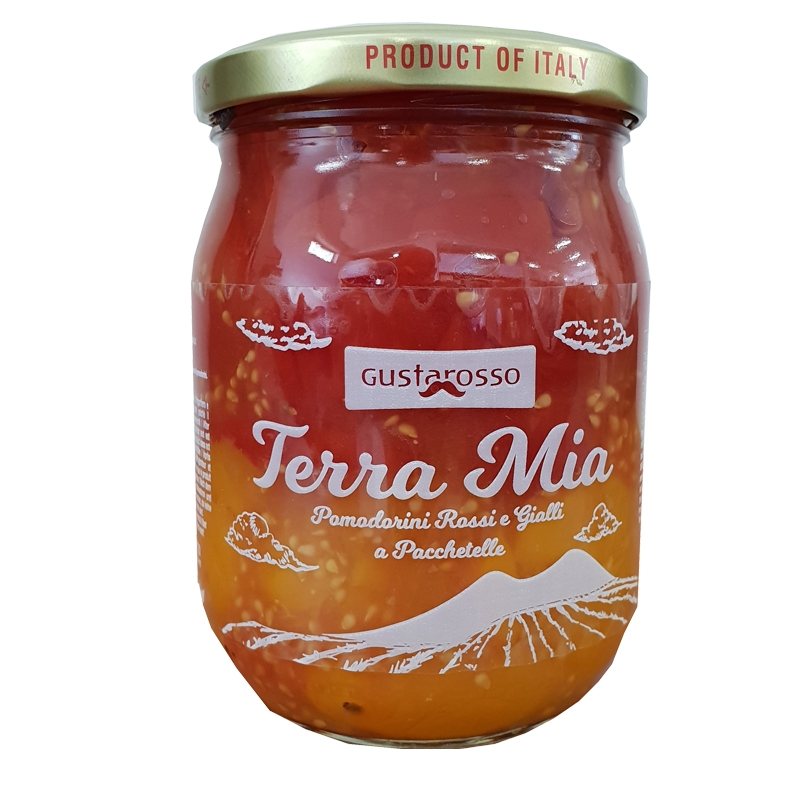 Terra Mia Tomaten in Pacchetelle 560 gr. Gustarosso