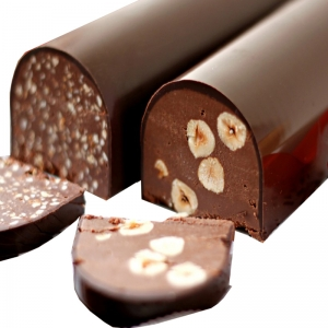 Turrón de los muertos en Chocolate 500 gr.