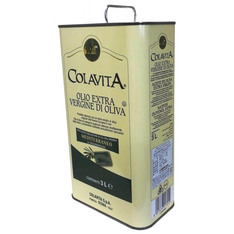 Olio extra vergine di oliva MEDITERRANEO 3 Lt - Colavita