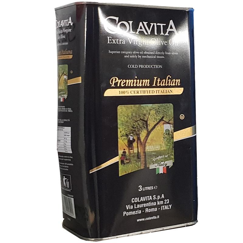 Olio extra vergine di oliva PREMIUM ITALIA 3 Lt - Colavita