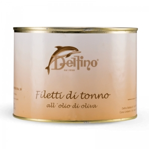 Filetti di tonno in Latta