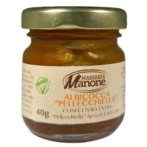 """Confettura extra di albicocca """"pellecchiella"""" del Vesuvio Gr. 40"""