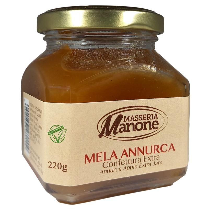 Mermelada extra de manzana annurca 220 Gr.