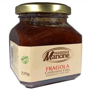 Confettura Extra di fragola 220 Gr.