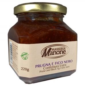 Confettura Extra di prugna 220 Gr.