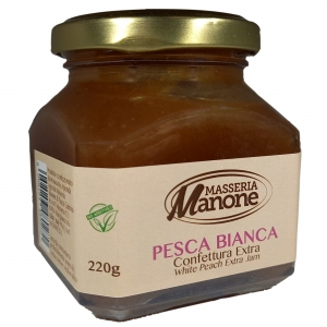 Extra jam of peach 220 Gr.