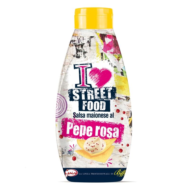 Salsa Al Pepe Rosa - Street Food 800 ml