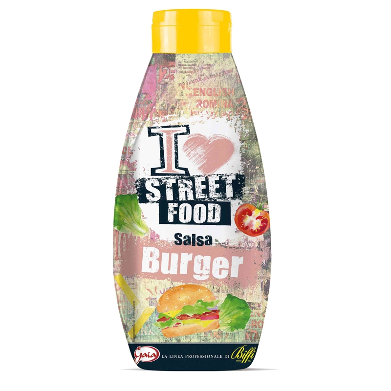 Salsa Burger - Street Food 800 ml