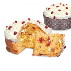 Panettone naturally risen with sour cherry and STREGA liqueur - iMarigliano