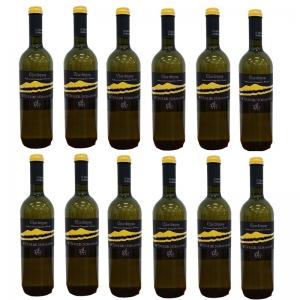 """Vino Chardonnay Terre Siciliane""""Le Terre del Normanno"""" IGP - Carton 12 piezas"""