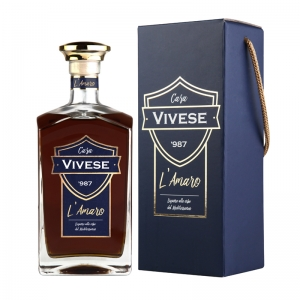 L'Amaro - Casa Vivese '987 with case with handle