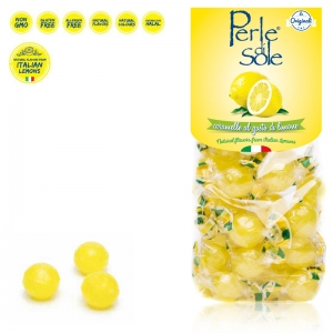 Lemon flavored hard candies - Perle di Sole