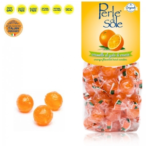 Orange Flavored Hard Candies - Perle di Sole