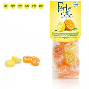 Lemon and Orange flavored Drops - Perle di Sole