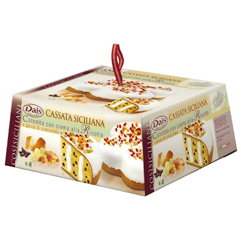 Colomba Con Cassata Siciliana