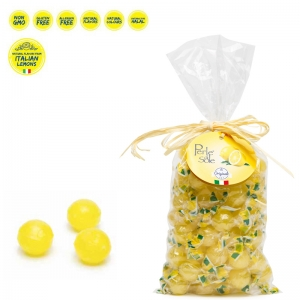 Lemon flavored hard candies 500 Gr. - Perle di Sole