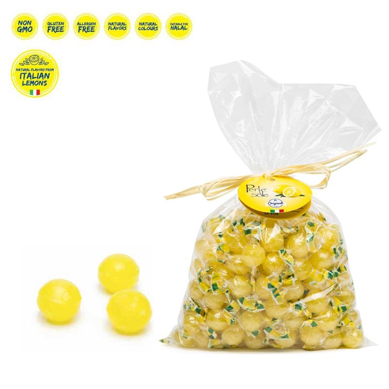 Caramelle al gusto di Limone 1000 Gr. - Perle di Sole