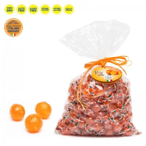 Bonbons durs à l'orange 1000 Gr. - Perle di Sole