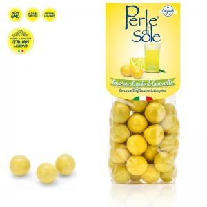 Limoncello Flavored Dragèes - Perle di Sole