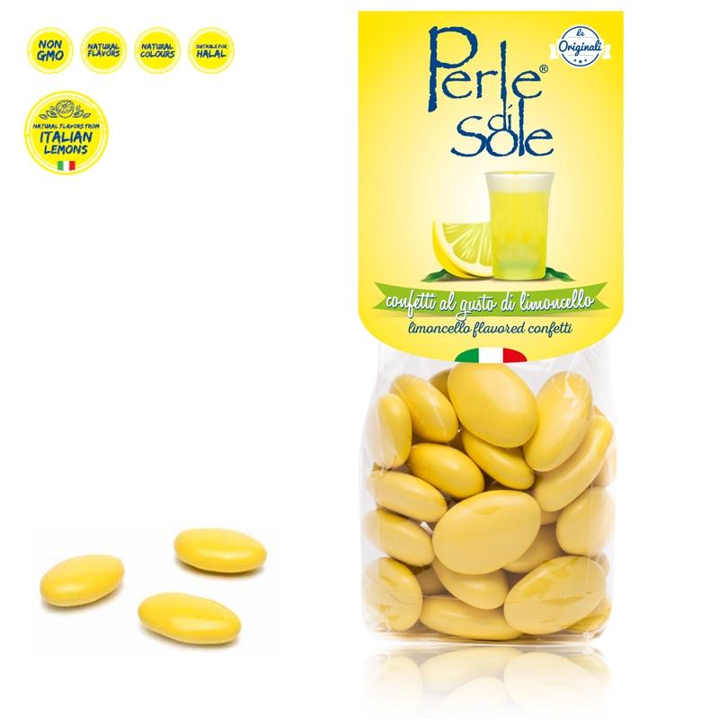 Limoncello-Konfetti mit Geschmack - Perle di Sole