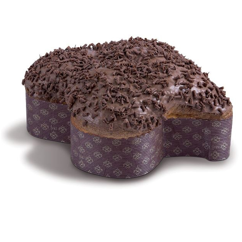 Colomba con chocolate Gianduia - iMarigliano